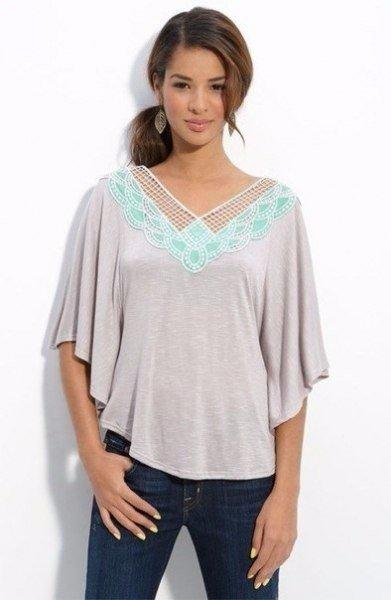 Patrones para hacer blusa tunica para el verano01