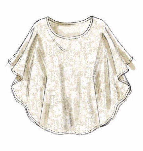 Patrones para hacer blusa tunica para el verano