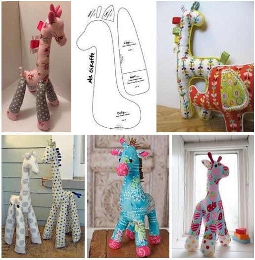 Como hacer jirafas con molde01