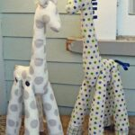 Como hacer jirafas con molde