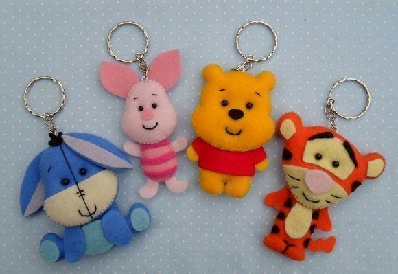 llaveros de winnie pooh y sus amigos en fieltro01