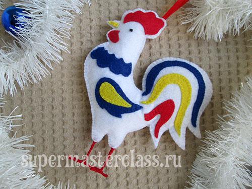 molde de gallo en fieltro05
