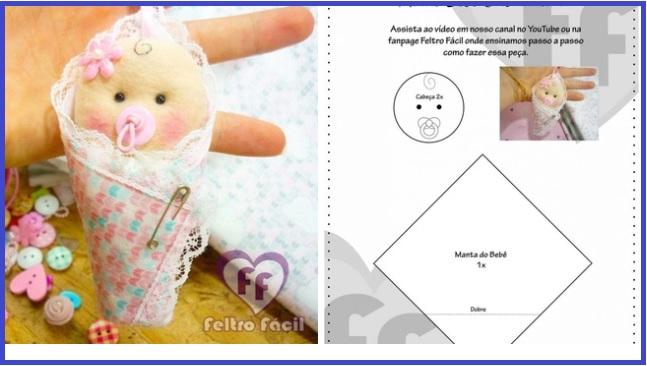 moldes de bebes de fieltro para baby shower03