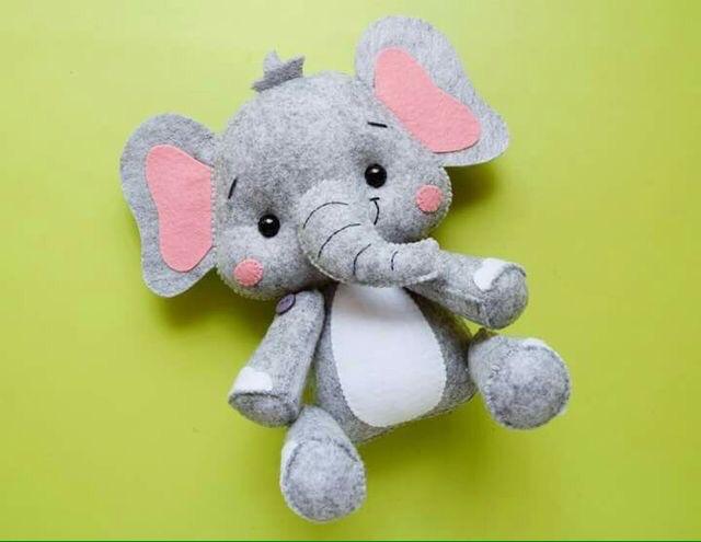 moldes de elefantes de fieltro01