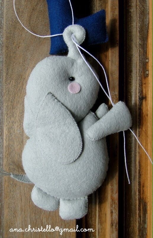 Moldes De Elefantes De Fieltrocon Moldes