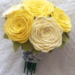 moldes de flores de fieltro para imprimir