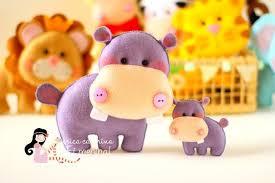 moldes de hipopotamo de fieltro01