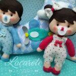 moldes de muñecas para baby shower