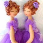 moldes de sujeta cortina de muñecas
