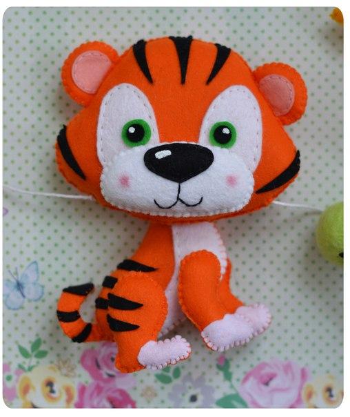 moldes de tigres de fieltro05