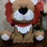 moldes para hacer de leon de fieltro