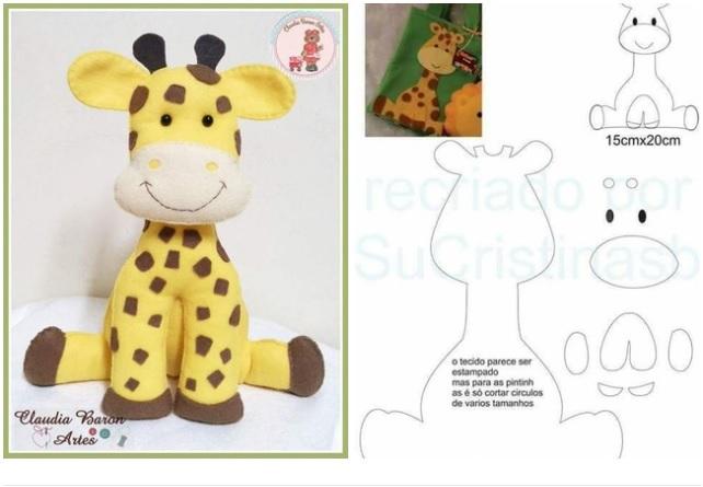 moldes para hacer jirafas de fieltro paso a paso03