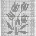 Moldes de alfombras cuadradas tejidas a ganchillo