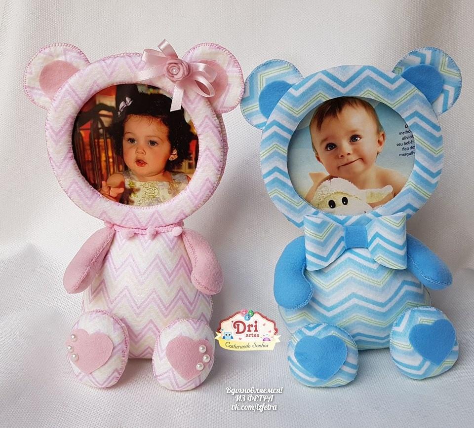 moldes de marcos de tela para fotos de bebes01