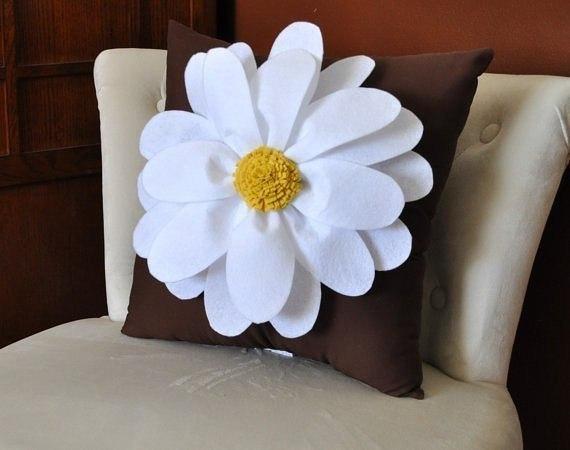 Cojines decorativos con flores01