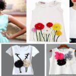 Ideas para decorar una blusa