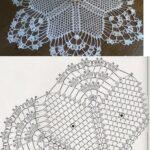8 Esquemas de servilletas tejidos en crochet