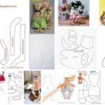 8 moldes para hacer gatos tela