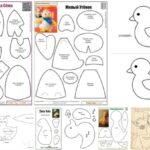 9 Moldes de patos para hacer en fieltro o tela