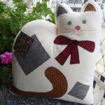 Molde almohada en forma de gato