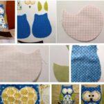 como hacer almohadas decoradas con buhos