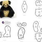 molde oso panda para imprimir
