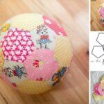 molde de pelota de futbol para imprimir