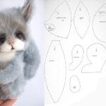 patrones para hacer muñecos de ardillas