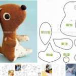 patrones para hacer perros de peluche