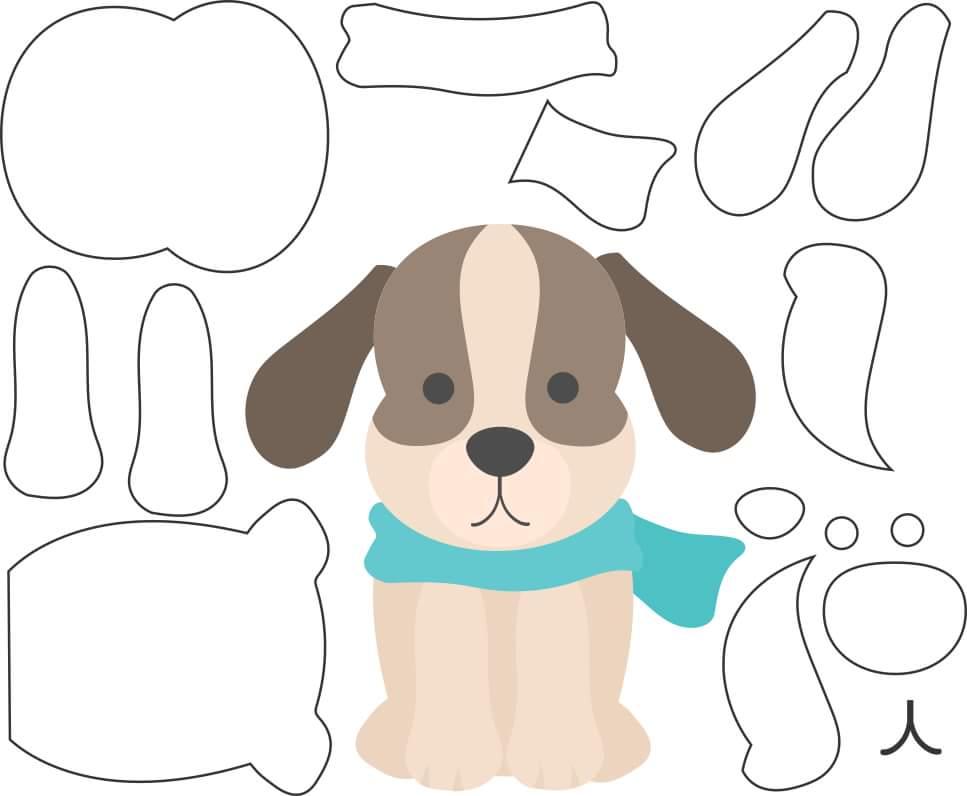 patrones para hacer perros de fieltro06