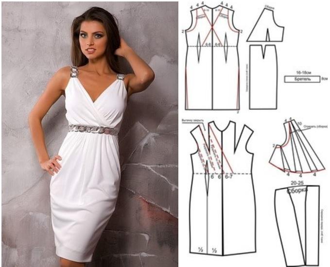 Moldes para hacer vestidos estilo griego