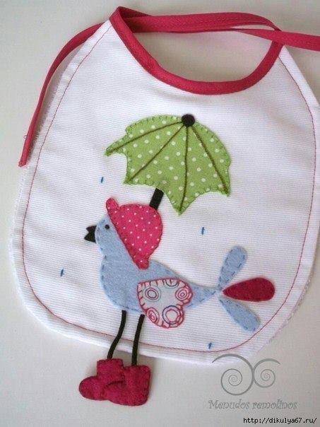 Baberos para bebés con patrones