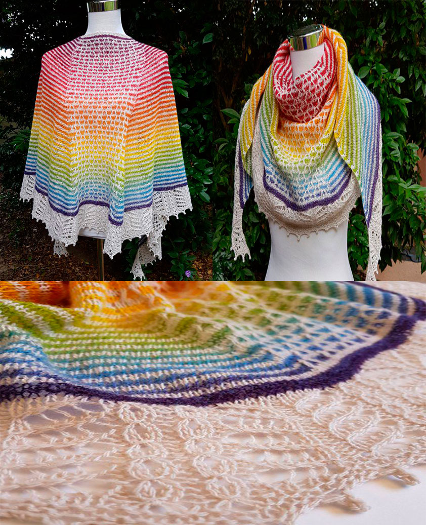 Chal tejido a crochet patrones06
