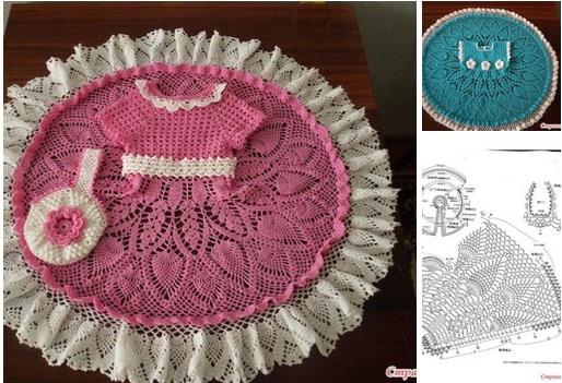 Dos vestidos tejido a crochet patrones04