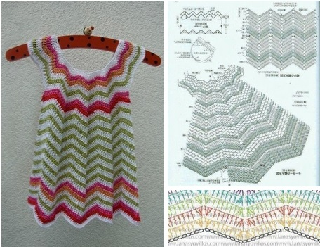 Vestido de verano en crochet para niña08
