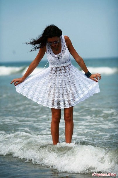 Vestido en crochet para la playa esquemas02