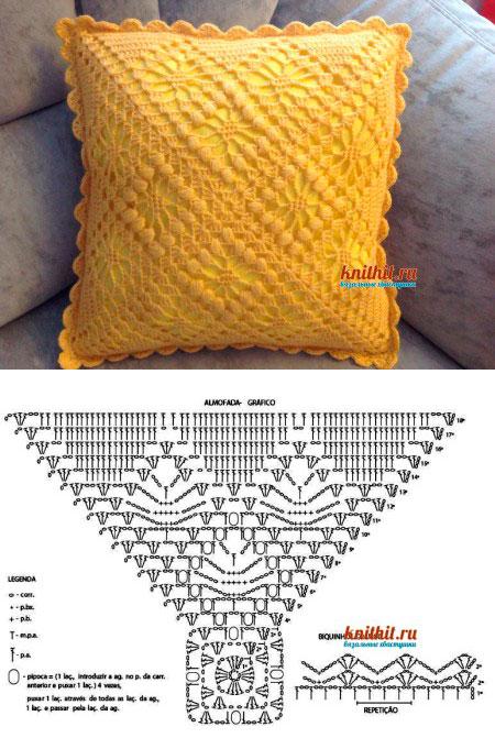 moldes para hacer Funda de cojin a crochet04