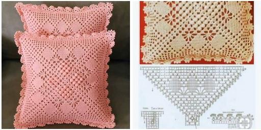 moldes para hacer Funda de cojin a crochet08