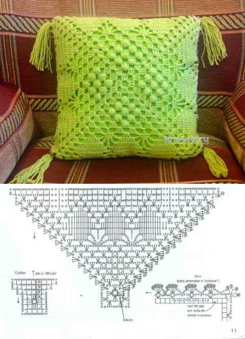 moldes para hacer Funda de cojin a crochet09
