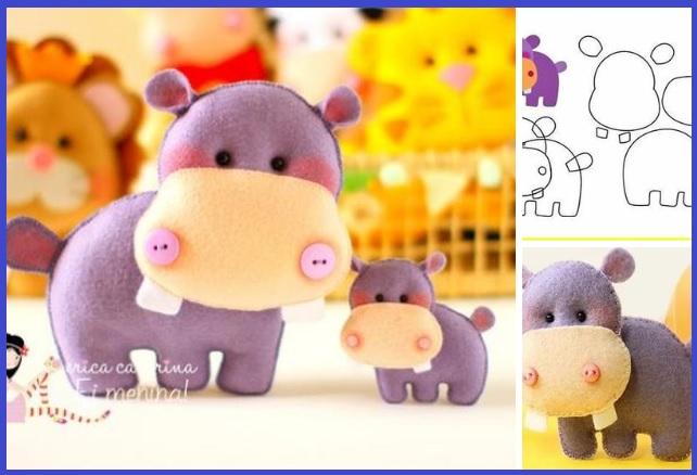 hipopotamo en fieltro04