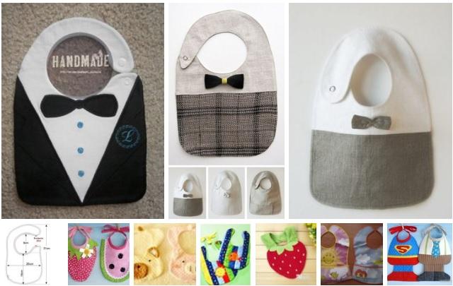 moldes de baberos para bebe originales11