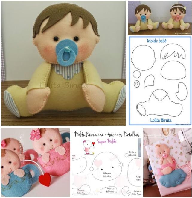 moldes de bebes para baby shower de nina y nina06