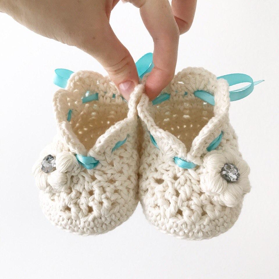 moldes de botines a crochet para bebe01