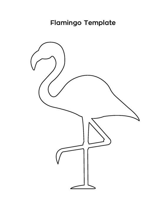 Moldes De Flamingos De Fieltroconmoldes Com