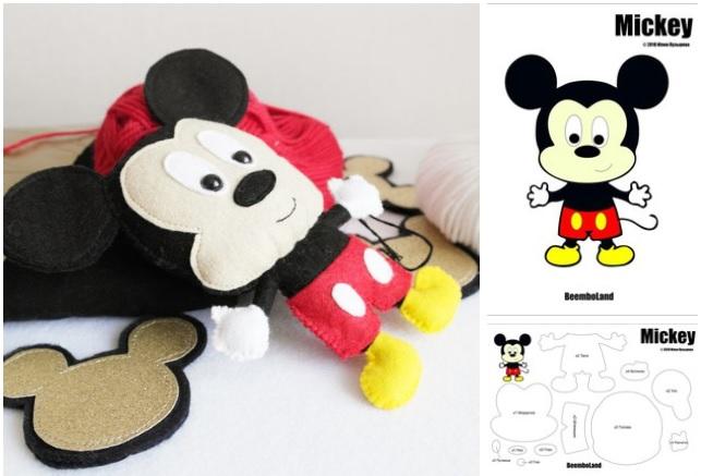moldes de mickey mouse en fieltro04