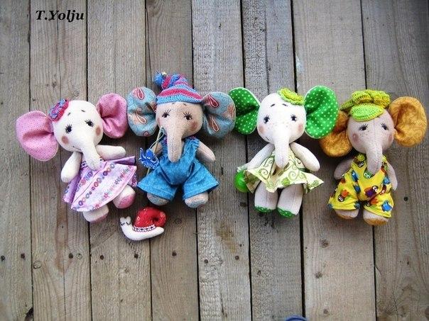 moldes para hacer elefantes de tela paso a paso