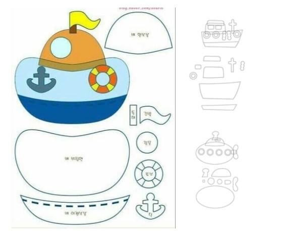 moles para hacer barcos de fieltro04