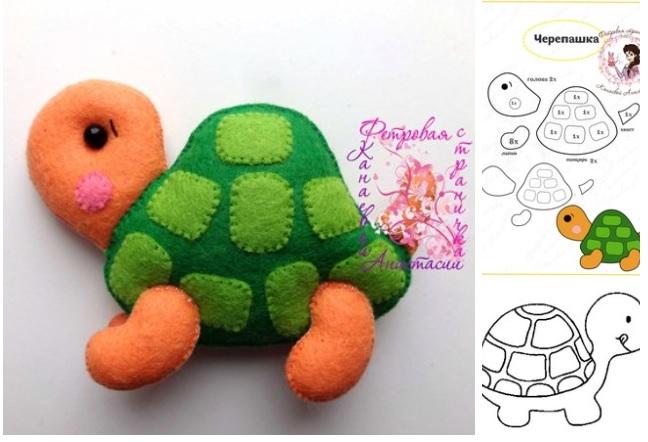 patrones de tortugas de fieltro04