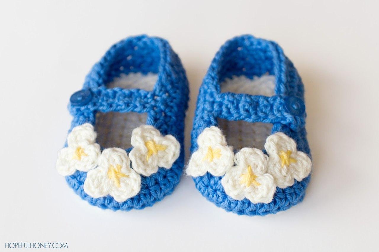 moldes de zapatitos para niña tejidos en crochet