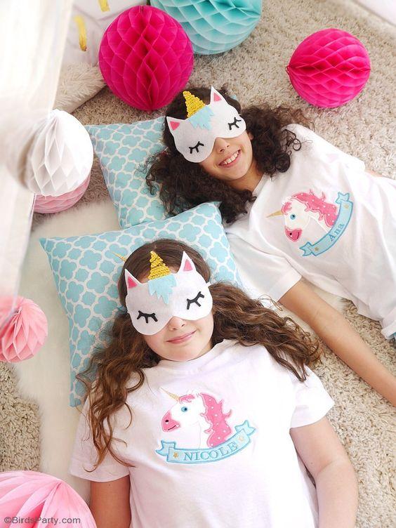 Molde antifaz de unicornio para dormir01